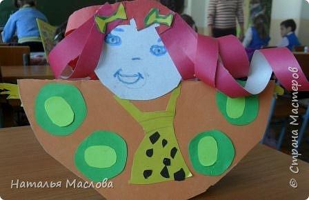 Вот такие блинные куклы сделали мои первоклассники. Идею подсмотрела у Новиковой Л. А. на MAAM.Ru фото 5