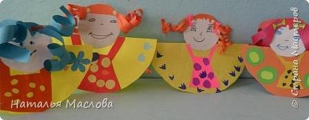 Вот такие блинные куклы сделали мои первоклассники. Идею подсмотрела у Новиковой Л. А. на MAAM.Ru фото 1