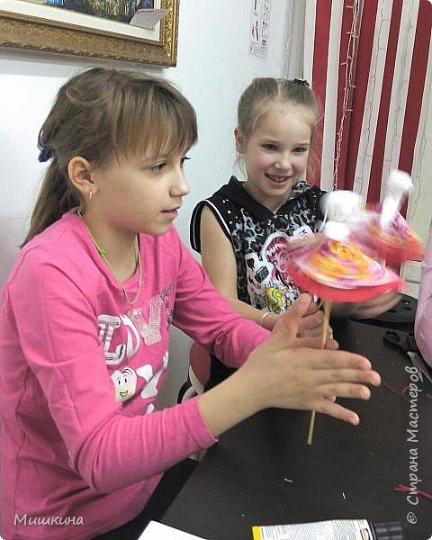 Доброго времени суток!  С масленницей!  Сегодня я провела первый МК для детей по народной кукле Хороводнице. Оххх, сложнл. А ведь всего было 3 девчонки))) фото 4