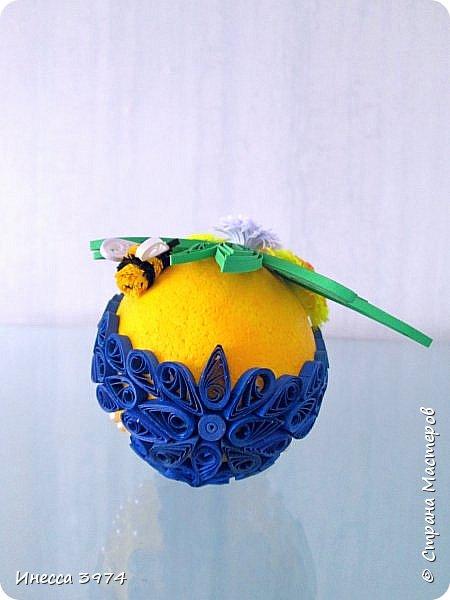 нужно было срочно сделать образец пасхального яйца для моих учеников,идею взяла у Галины Зубановой http://stranamasterov.ru/node/569016,основа пенопластовое яйцо покрашенное акриловой краской,размер 10см фото 4