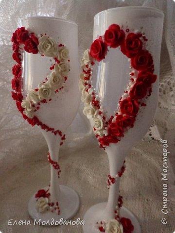 Для свадьбы в  бело красных тонах. фото 2