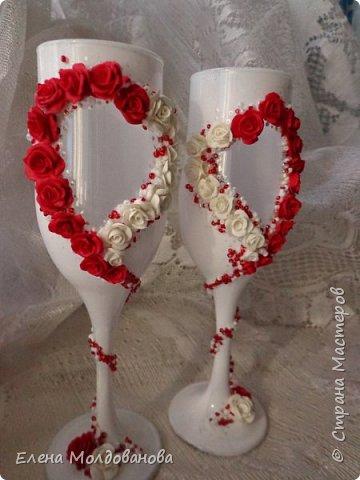 Для свадьбы в  бело красных тонах. фото 3