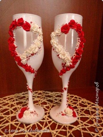 Для свадьбы в  бело красных тонах. фото 4