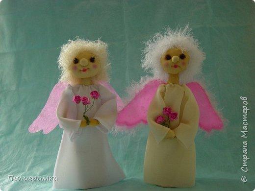 Ангелы с розовыми крыльями. фото 1