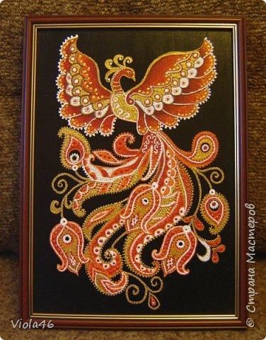 Точечная роспись - Жар-птица фото 1