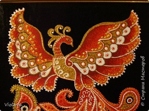 Точечная роспись - Жар-птица фото 2