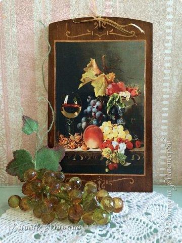 Добрый день, друзья и гости моего блога!!! Сегодня я буквально на минутку))) покажу набор кухонных досок и кулинарных лопаток, объединенных сочными фруктовыми натюрмортами)))  фото 4