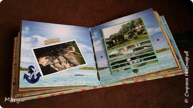 Вот такой альбом я подарила маме на День Рождение! Она каждый год ездит в разные страны, а в этом альбоме собраны фотографии почти со всех мест где она побывала. Альбом делала по мастер-классу http://stranamasterov.ru/node/797400?c=favorite. фото 10