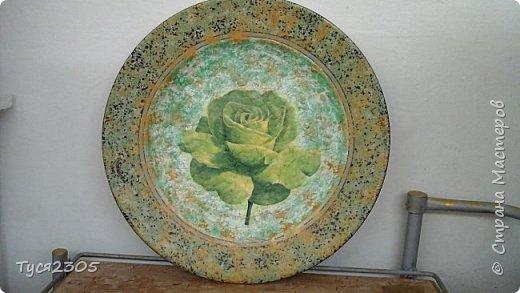 Блюдо декоративное фото 1