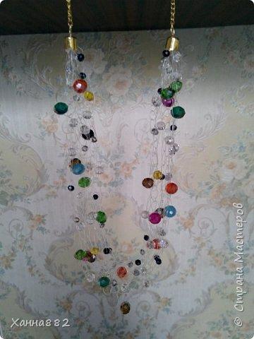 Навязалось ожерелье, я давно хотела попробовать и вот. Мне понравилось. Даже уже заказали похожее))) фото 3