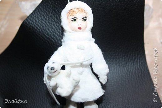 Вот за выходные получилась  Девчушка с зайцем, имя ей еще не придумала, как и цвета в которые  раскрашу.  фото 6