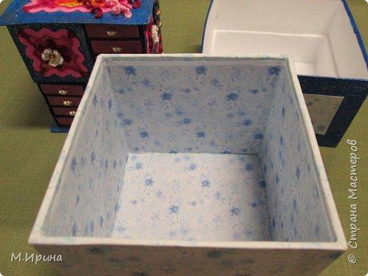 Мои первые шкатулки: из картона для рукоделия и из спичечных коробков для бусинок и всяких мелочей - булавок, застежек, крючочков и т.д. Не все получилось идеально, и еще есть к чему стремиться)) фото 28