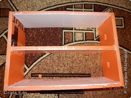 Вот такой кукольный домик для свинки Пеппа я сделала для своей дочери. Размер домика 60*20*60 см. фото 3