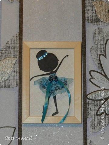 Здравствуйте девчата. Сделала в комнату своей доченьки вот такие рамочки с балеринами. Идею видела в группе вконтакте.  фото 2