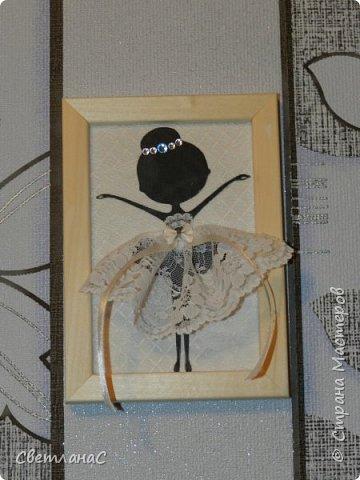 Здравствуйте девчата. Сделала в комнату своей доченьки вот такие рамочки с балеринами. Идею видела в группе вконтакте.  фото 3