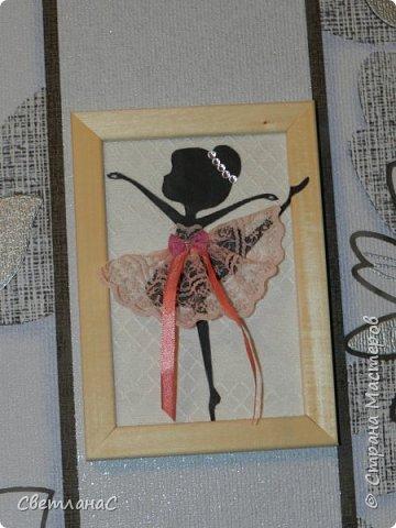 Здравствуйте девчата. Сделала в комнату своей доченьки вот такие рамочки с балеринами. Идею видела в группе вконтакте.  фото 4