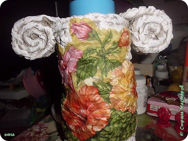 ПЛЕТЕМ - НЕ ПЛЕТЯ. Плетение необычное из туалетной бумаги фото 34