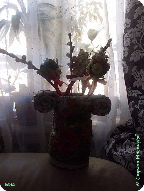 ПЛЕТЕМ - НЕ ПЛЕТЯ. Плетение необычное из туалетной бумаги фото 31