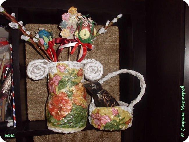 ПЛЕТЕМ - НЕ ПЛЕТЯ. Плетение необычное из туалетной бумаги фото 38