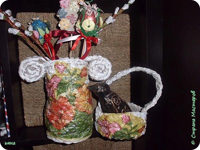 ПЛЕТЕМ - НЕ ПЛЕТЯ. Плетение необычное из туалетной бумаги фото 1