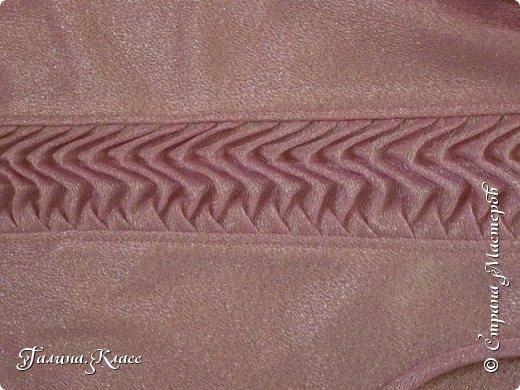 Нарядная блузка с декоративной вставкой. Даже не знаю, как назвать этот вид рукоделия - скорее всего, драпировка.  фото 3