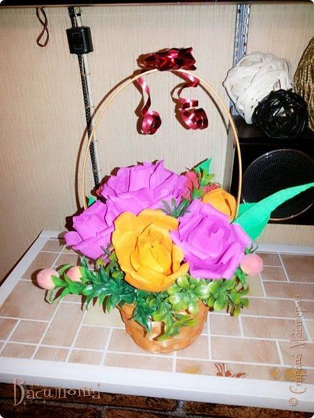 корзиночки с цветами фото 2