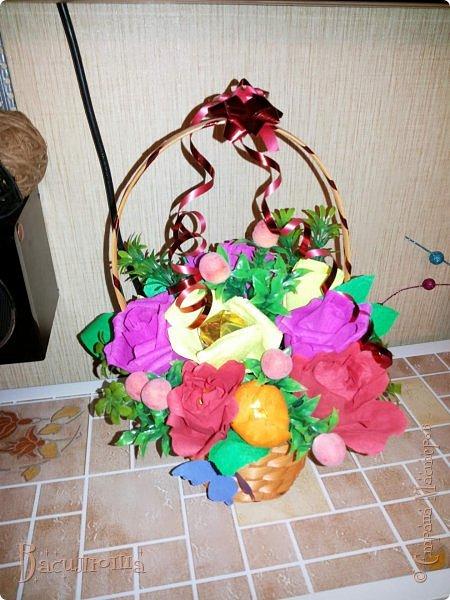 корзиночки с цветами фото 1