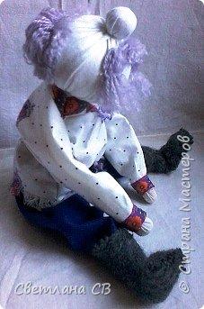 Вот такой дед появился у бабки Малуши, сделан он по МК Алены Масловой http://alyonamaslova.ru/shitie-kroi/kyklu/kukla-ded-harakternyiy  фото 1