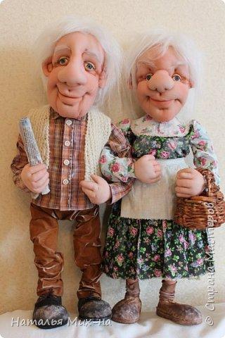 Дед Прокофий и бабушка Настя  фото 1