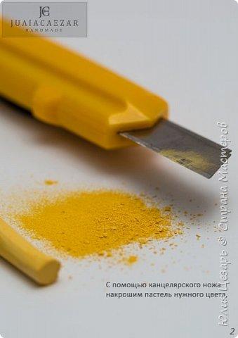 """Мини мастер-класс """"Как покрасить манку для создания тычинок"""" фото 3"""