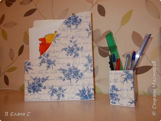 журнальница и карандашница фото 3