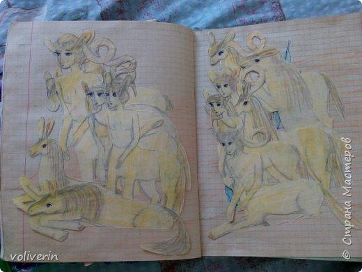"""Добро пожаловать, в мой вымышленный мир))) Это планета Виола солнечной системы Вьюс и жувут на ней кентавры и кони, много много разных видов, все фотографировать не стала, выбрала самых """"породистых""""))) итак первый табун - радужные лошадки фото 6"""