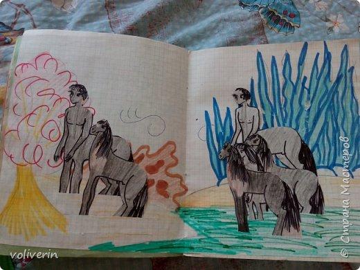 """Добро пожаловать, в мой вымышленный мир))) Это планета Виола солнечной системы Вьюс и жувут на ней кентавры и кони, много много разных видов, все фотографировать не стала, выбрала самых """"породистых""""))) итак первый табун - радужные лошадки фото 2"""