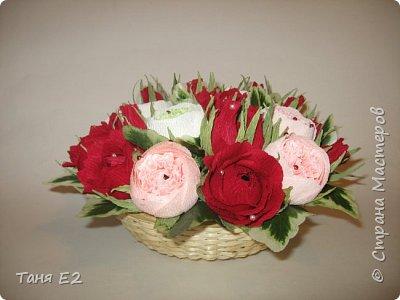 Делала подружке на день рождения, большое спасибо Даше Хомюк за ее мк роз осинок фото 2