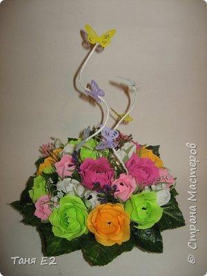 Делала подружке на день рождения, большое спасибо Даше Хомюк за ее мк роз осинок фото 3