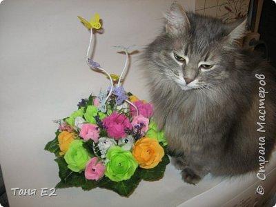 Делала подружке на день рождения, большое спасибо Даше Хомюк за ее мк роз осинок фото 4