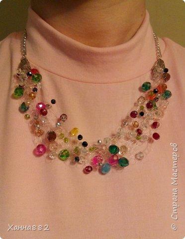 Навязалось ожерелье, я давно хотела попробовать и вот. Мне понравилось. Даже уже заказали похожее))) фото 5
