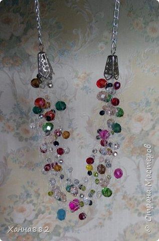 Навязалось ожерелье, я давно хотела попробовать и вот. Мне понравилось. Даже уже заказали похожее))) фото 4