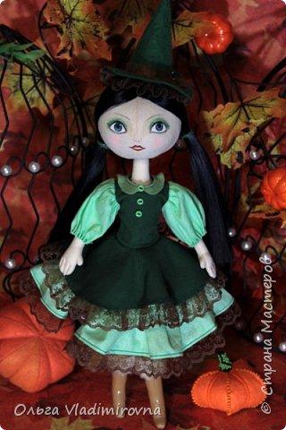 Зеленая лесная ведьмочка