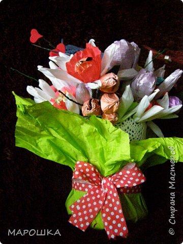 именинник весенний значит и букет весенний  - нарциссы, тюльпаны фото 3