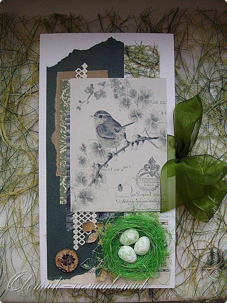 И вновь весна, и птицы вновь поют и гнезда неустанно вьют... Всем доброго весеннего дня! Это - две упаковки в форме книжки для коробочек конфет. фото 2