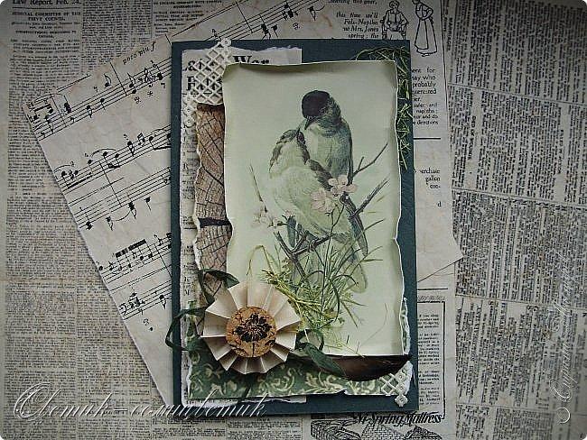 И вновь весна, и птицы вновь поют и гнезда неустанно вьют... Всем доброго весеннего дня! Это - две упаковки в форме книжки для коробочек конфет. фото 12