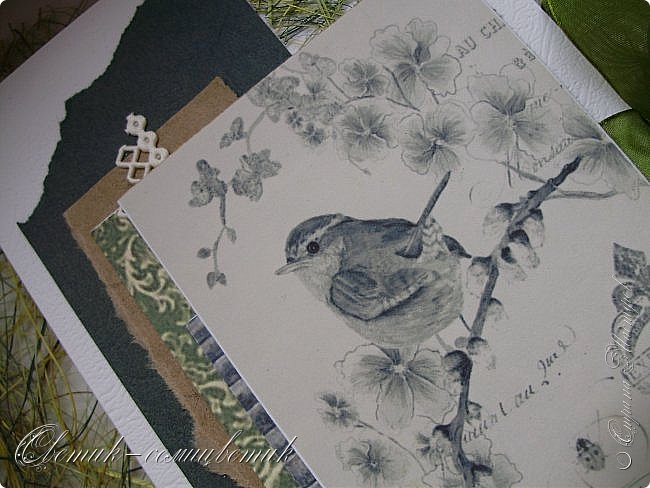 И вновь весна, и птицы вновь поют и гнезда неустанно вьют... Всем доброго весеннего дня! Это - две упаковки в форме книжки для коробочек конфет. фото 6