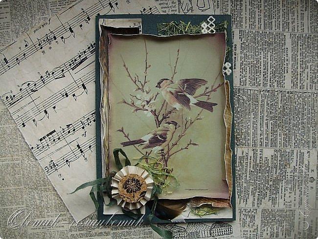 И вновь весна, и птицы вновь поют и гнезда неустанно вьют... Всем доброго весеннего дня! Это - две упаковки в форме книжки для коробочек конфет. фото 15