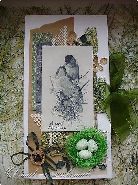 И вновь весна, и птицы вновь поют и гнезда неустанно вьют... Всем доброго весеннего дня! Это - две упаковки в форме книжки для коробочек конфет. фото 7