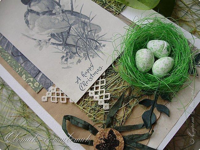 И вновь весна, и птицы вновь поют и гнезда неустанно вьют... Всем доброго весеннего дня! Это - две упаковки в форме книжки для коробочек конфет. фото 9