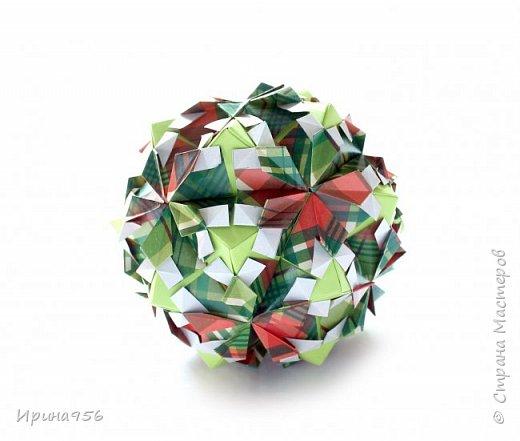 Рetal globe МК http://stranamasterov.ru/node/92773?c 30+30 модулей 5 х 2,5 см.  Размер около 6 см. фото 9