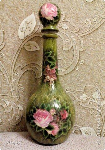 Доброго всем дня!   Уже известная салфетка, подриовка листиков, кракелюр парой Идиго и затирка масляной краской. фото 1