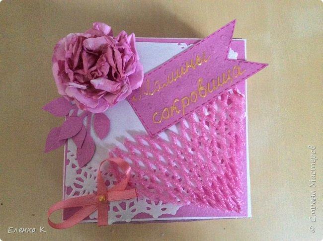 Моё последнее творение - коробочка для маленькой принцессы. фото 7