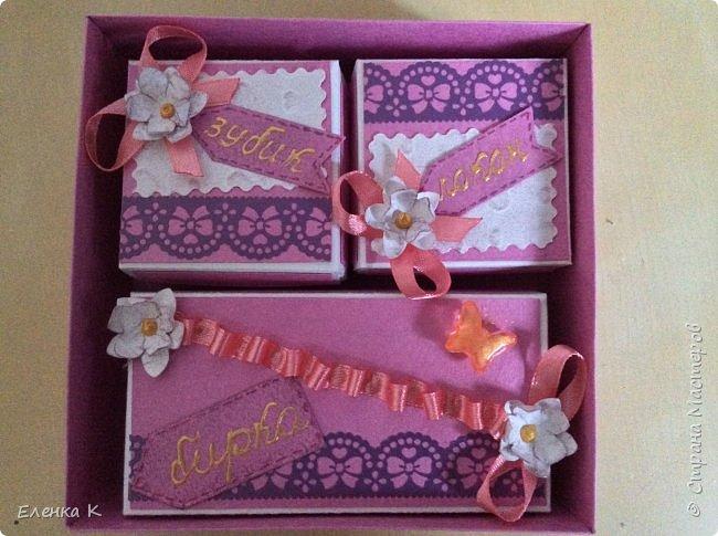 Моё последнее творение - коробочка для маленькой принцессы. фото 8